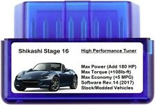 Stage 16 Performance Power Tuner Chip [ Add 180 HP 5 MPG ] OBD Tuning for Honda