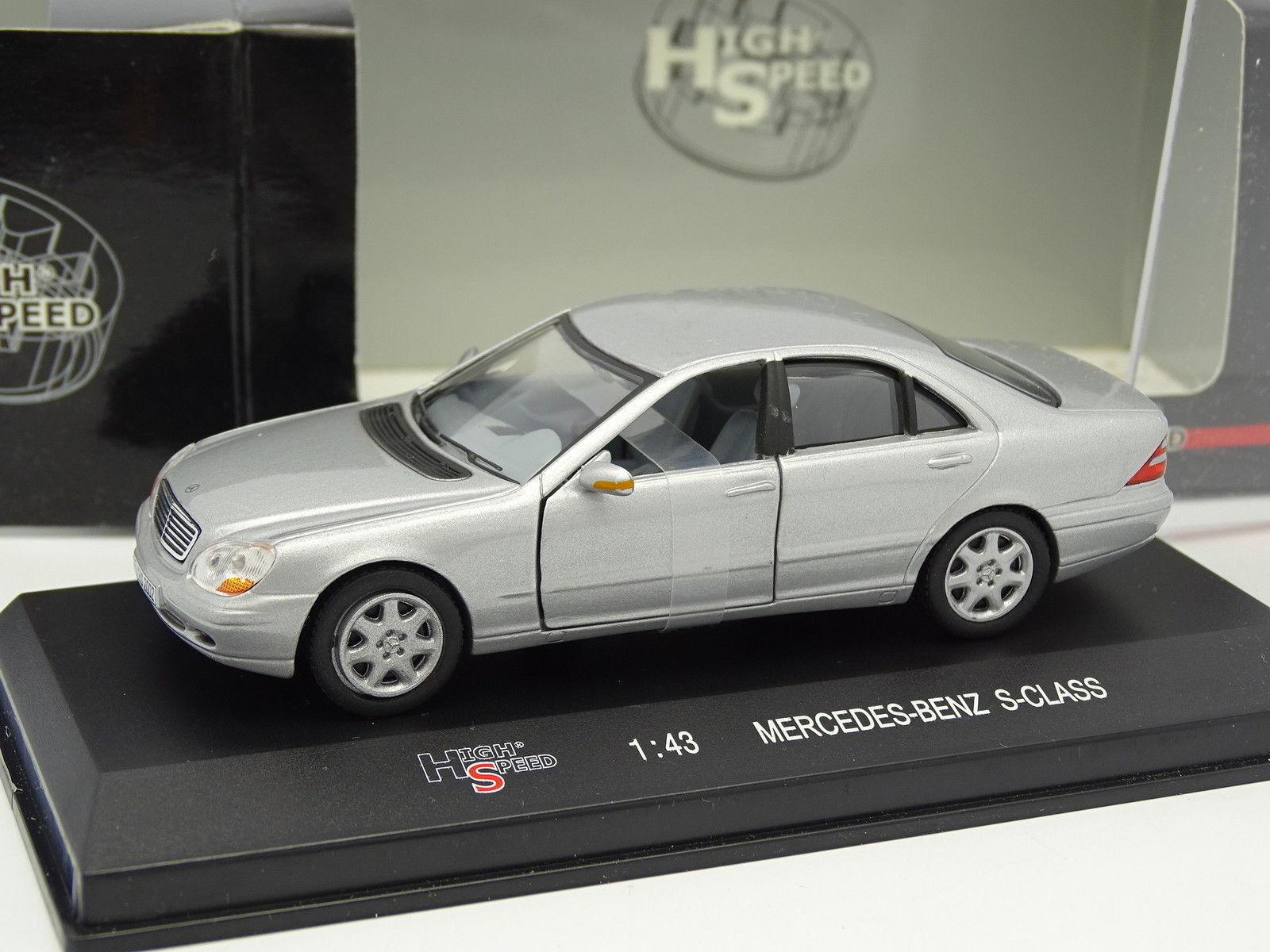 High Speed 1 43 - Mercedes Classroom S Grey Grey Grey 0e11ac