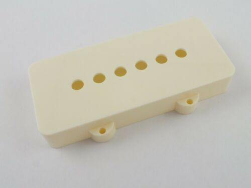 Cream or Black Pair of Jazzmaster Pickup Covers in 4 colours Aged White White