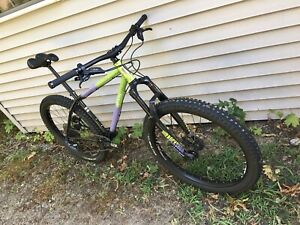 All City Electric Queen Medium 27 5 Mountain Bike With Upgrades Ebay