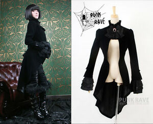 Steampunk gotica Gonna Stiletto Punk Lolita Corset Velluto Gothic AzwwPEq