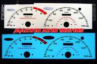 6 Color Glow Gauges For Honda Prelude 92-96 93 94 1992-1995 1993 1994 Vtec Mt on sale