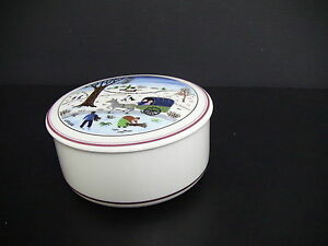 Villeroy & Boch Design Naif Christmas Porcelain Candy Box ...