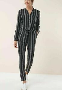 Clothes, Shoes & Accessories Able Next Striped Taper Leg Jumpsuit 6/8/10/12/14/16/18/20/22 Rrp £46 Numerous In Variety