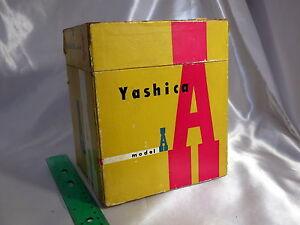 Yashica-Model-A-TLR-camera-original-vintage-Empty-box-only-Japan-5402008