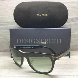 0be351e8d8 Tom Ford Jack TF 045 TF45 Sunglasses Havana Gold 52P Authentic 51mm ...