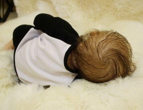 "Handmade Life like Newborn Reborn Baby Soft Vinyl silicone doll 18"""