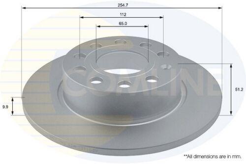 X2 neuf-garantie 5 an Comline arrière 2x enduit de disques de frein ADC1457