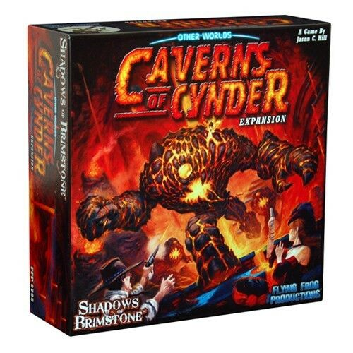 Shadows of Brimstone: Caverns of Cynder Expansion, NEW