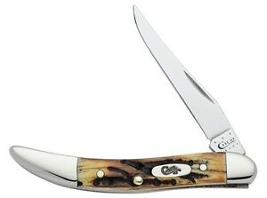 CASE-XX-KNIVES-GENUINE-STAG-SMALL-TEXAS-TOOTHPICK-510096-SS-KNIFE-5532-USA-SALE