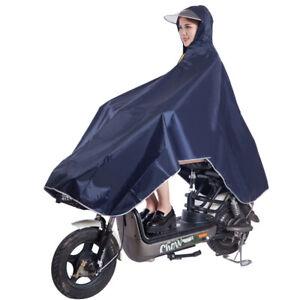 UK Womens Ladies Raincoat Wind Waterproof Jacket Hooded Rain Mac Outdoor Poncho