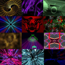 1000+ VJ Clips - Seamless Loops, Full 3D Render. Video. Editing. Footage, colour