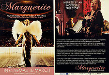 2 X MARGUERITE FILM FLYER CARDS CATHERINE FROT - FLORENCE FOSTER JENKINS
