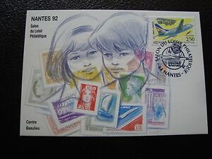 Francia-Postal-1992-Tema-Filatelia-cy67-Francesa