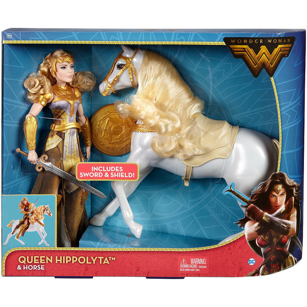 DC Comics Wonder donna regina Hippolyta bambola with Horse   1 6 cifra 12  nuovo   presa di fabbrica