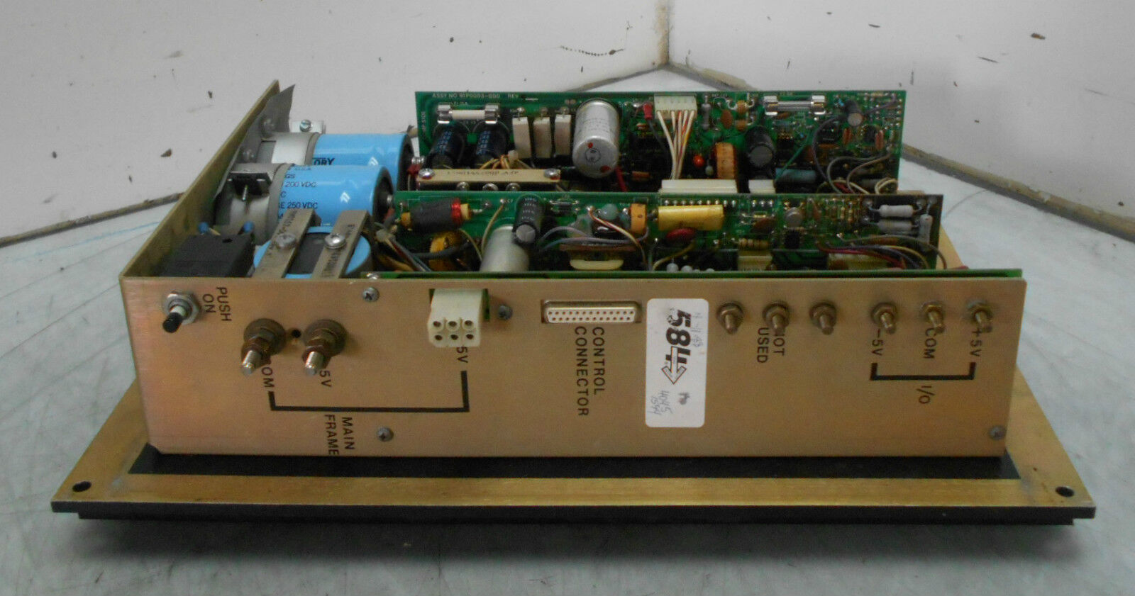 Gould Power Supply Module, AS-P530-0MA, Used, WARRANTY