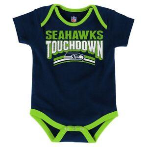 242939943 Image is loading Infant-Newborn-Baby-Boys-NFL-Seattle-Seahawks-Bodysuit-
