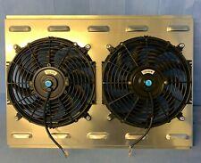 26 X 19 Universal Cross Flow Shroud Amp Dual 12 Fan Usa Made 2900 Cfm
