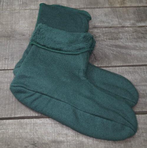 Thermosocken Faserpelzsocken Faserpelz Socken Stiefelsocken grün NL niederl