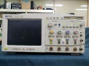HP-Agilent-54825A-Infinium-Digital-Oscilloscope-4-Channels-500MHz-Defected