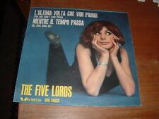 """THE FIVE LORDS """" L'ULTIMA VOLTA CHE VIDI PARIGI """" ITALY'65"""