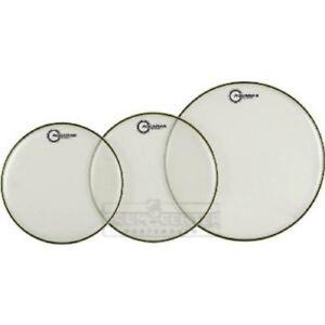 Aquarian Snare//Tom Heads CC10BK Classic Clear Drumhead 10 Black