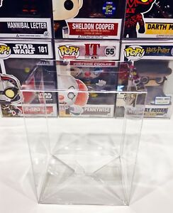 100-FUNKO-POP-Box-Protectors-For-4-034-Vinyl-Figures-Crystal-Clear-Display-Cases