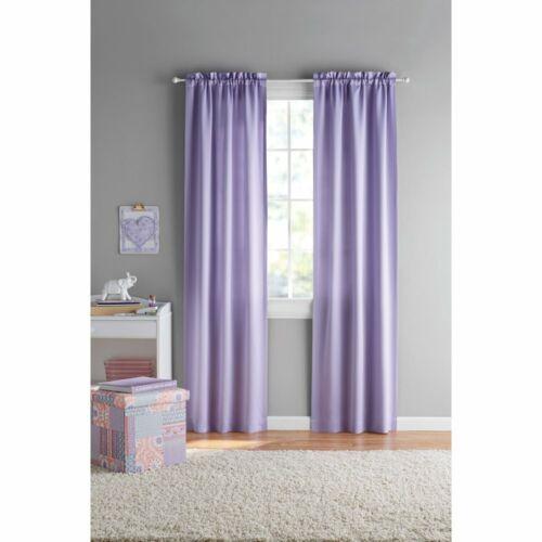 "Pair Light Purple Room Darkening Juvi Curtains Drapes Panels Pair 60/""W x 84/""L"