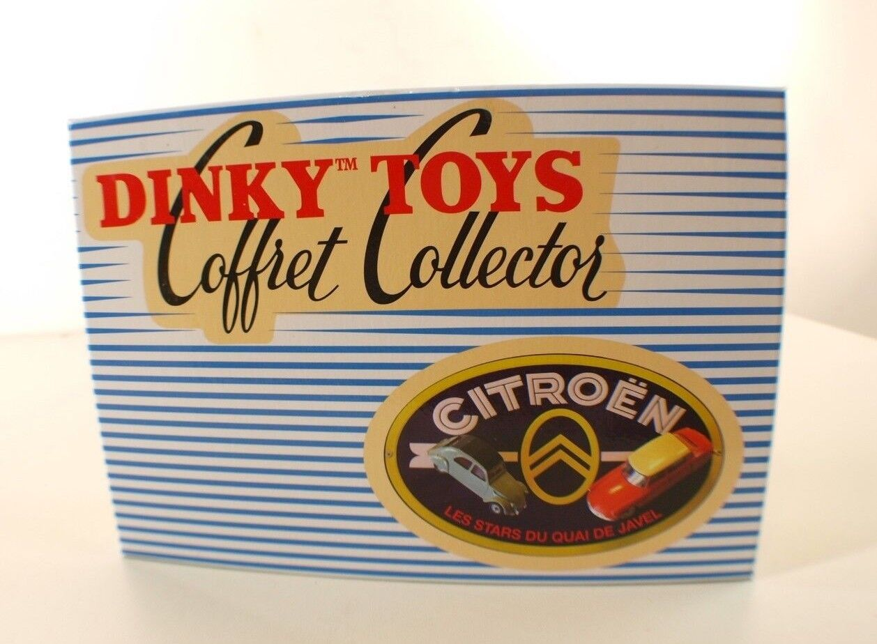 ATLAS Dinky Coffret Collector Citroën Les Estrellas de quai de Javel 1 43 neuf MIB