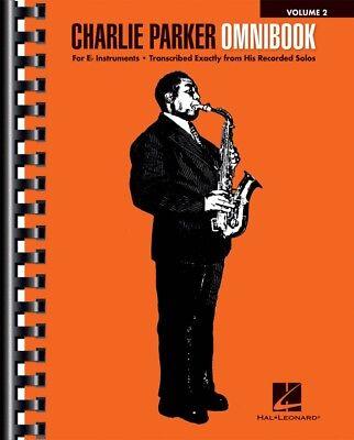 Charlie Parker Omnibook Volume 2 For E-flat Instruments Jazz Book 000264662  9781540021960   eBay