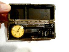 Federal Dial Indicator Test Master 001 In Original Case