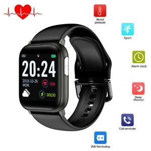 Herren Smartwatch EKG Pulsuhr Blutdruck Sport Uhr Armband für Samsung Note 10 9