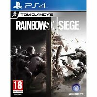 Tom Clancy's Rainbow Six Siege (PS4) UK Stock - Excellent - 1st Class Delivery