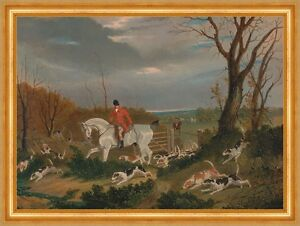 Stable The Suffolk Hunt: Going To Cover Near Herringswell Cheval Chasse Herring B A3 00125-afficher Le Titre D'origine Le Plus Grand Confort