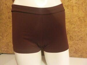 Fiable Short De Danse, De Sport, Shorty, Femme, Dansco C43/2509, Lie De Vin(prune) En L Excellente Qualité