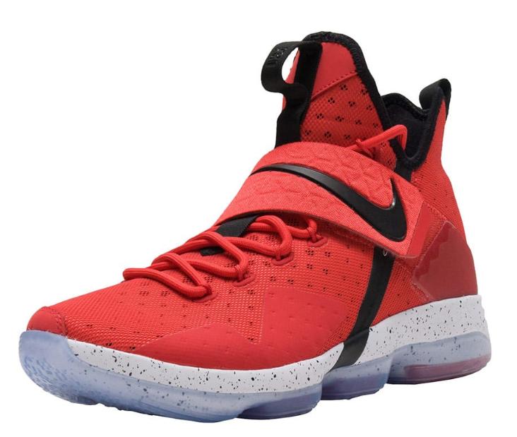 Nike Lebron 14 XIV Talla US 12 M (D) Eu 46 Hombre Zapatillas Baloncesto Rojo