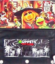 NEW! Disney Muppets Pencil Case Zipper Bag Pockets 3 Hole Binder Multi Use