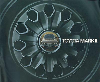 1973 Toyota Mark Ii Prospekt Brochure Catalogue Englisch Usa