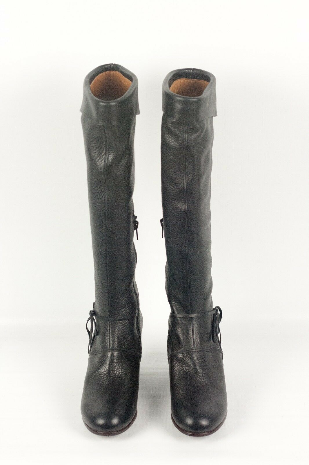 NEW IN IN IN BOX  525 Coclico West Black Leather Wedge Boots Size 37 GORGEOUS 55bb75