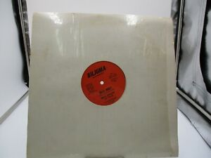 "BILLY FRAZIER ~ BILLY WHO (1980) RARE 12"" ~ BILJUMA 001 SINGLE VG++ c VG"