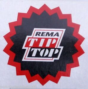 Rema-Tip-Top-Round-Tyre-Inner-Tube-Puncture-Repair-Patches-Agri-Truck-Car