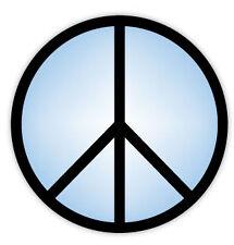 Peace symbol simbolo di pace etichetta sticker 11cm x 11cm