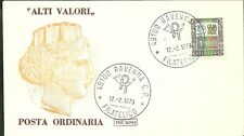 ITALIA BUSTA  Lire  4000  ALTI VALORI F.D.C. ROMA 1979 FDC ANNULLO RAVENNA