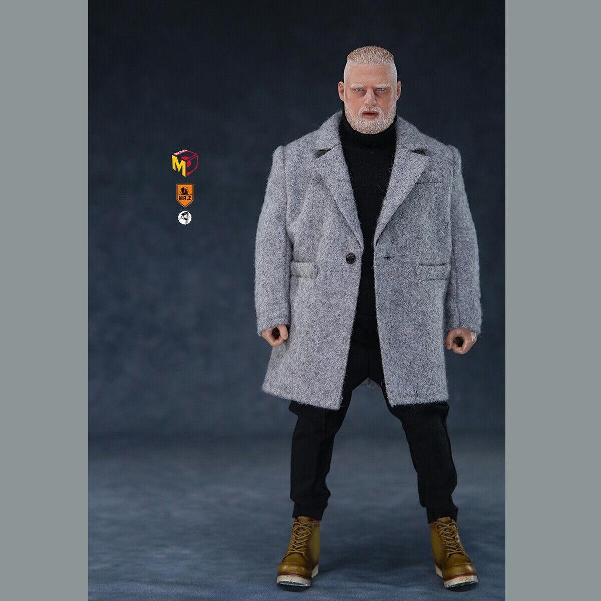 MCCJuguetes x Mr. Z MCC020 1 6 Mr. Z 's Mini Armario la gran cosa Viento Abrigo Figura Nueva