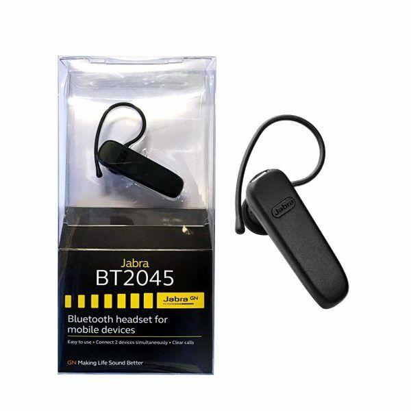 Jabra Bt2045 Black Ear Hook Headsets For Sale Online Ebay