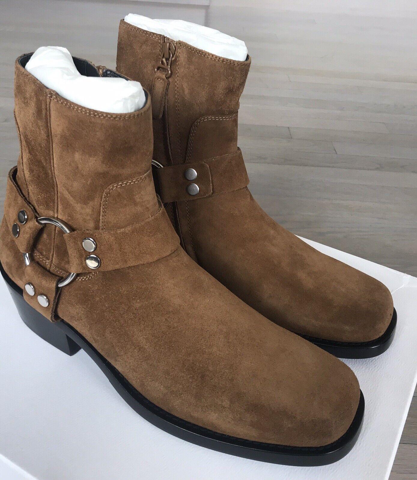 1,200 Balenciaga Brown Suede Boots size US 9, EU 42 Made in