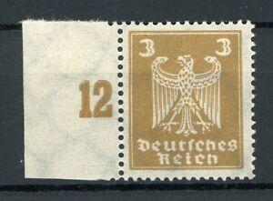 Deutsches-Reich-MiNr-355-Y-Bogenrand-postfrisch-MNH-Fotoattest-Schlegel-MA1031