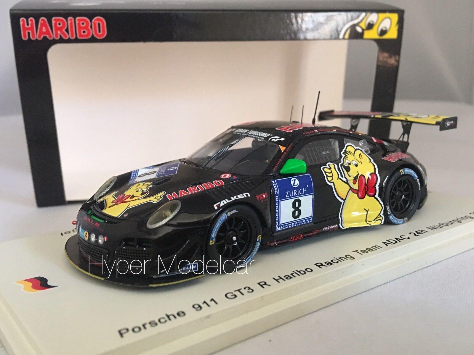 Spark Model 1 43 Porsche 911 GT3 R  8 ADAC 24H Nurburgring 2014 Art.SG146
