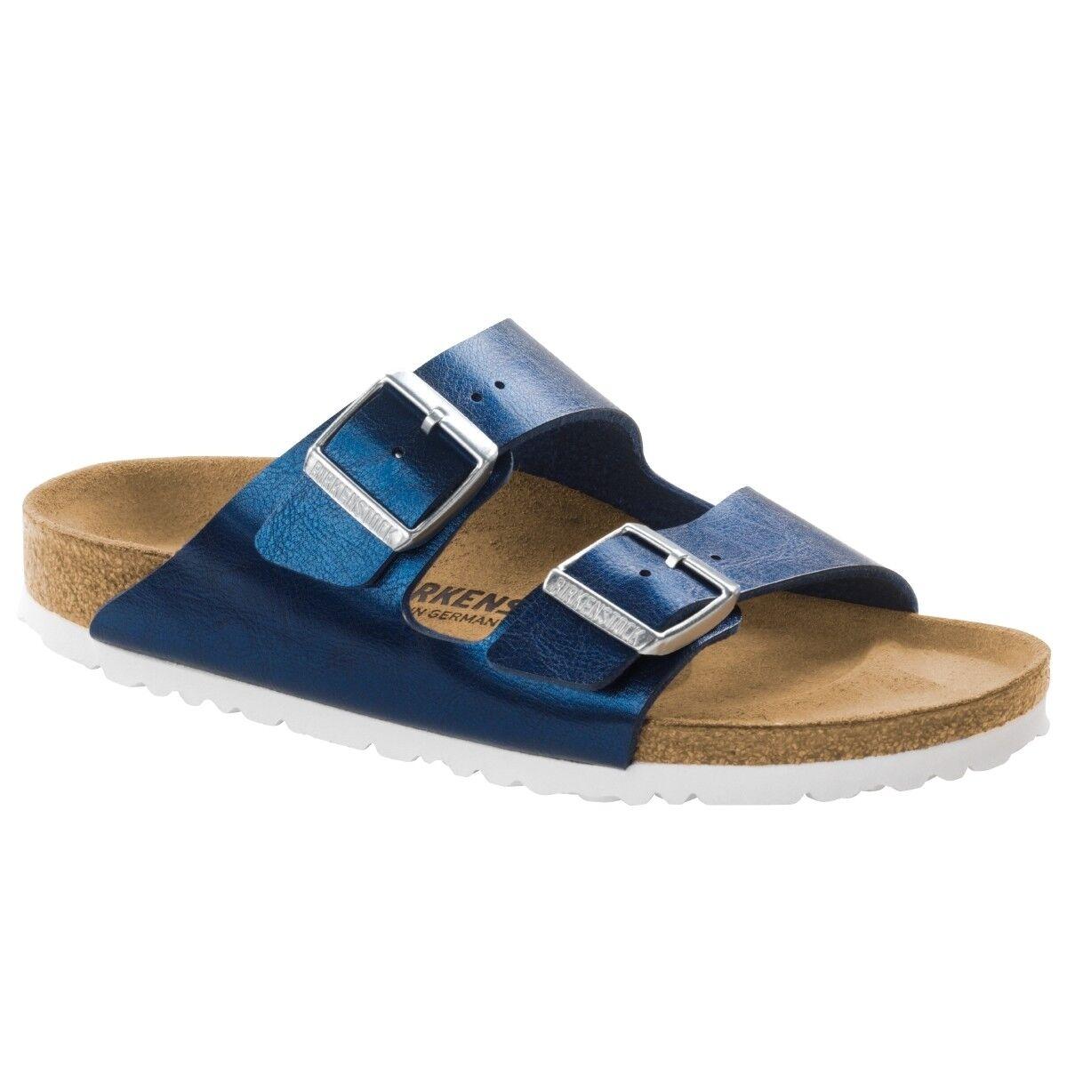 Birkenstock Arizona Birko-Flor Graceful Schuhe Sandalen Weite schmal 1006375
