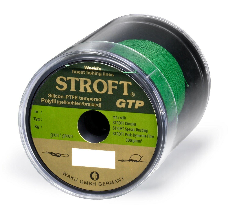 Schnur STROFT GTP Typ R Geflochtene 500m grün Angelschnur Angelsehne Angelleine